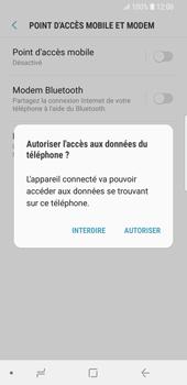 Samsung Galaxy S9 - Internet et connexion - Utiliser le mode modem par USB - Étape 7