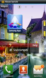 Samsung S8530 Wave II - MMS - automatisch instellen - Stap 5