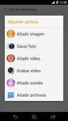 Sony Xperia Z1 - E-mail - Escribir y enviar un correo electrónico - Paso 11