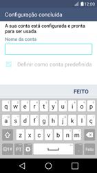 LG K4 - Email - Adicionar conta de email -  10