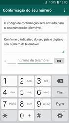 Samsung Galaxy S6 - Aplicações - Como configurar o WhatsApp -  10