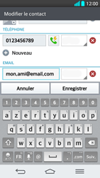 LG G2 - Contact, Appels, SMS/MMS - Ajouter un contact - Étape 10