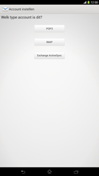 Sony C6833 Xperia Z Ultra LTE - E-mail - handmatig instellen - Stap 7