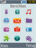 Samsung B2100 Xplorer - E-mail - Handmatig instellen - Stap 3