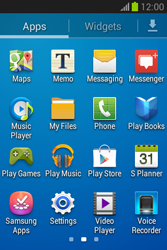 Samsung S6790 Galaxy Fame Lite - Applications - Downloading applications - Step 3