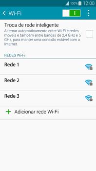 Samsung N910F Galaxy Note 4 - Wi-Fi - Como configurar uma rede wi fi - Etapa 6
