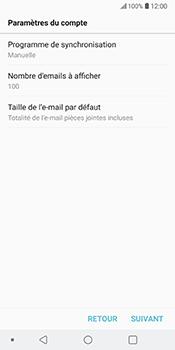 LG V30 - E-mail - Configuration manuelle - Étape 18