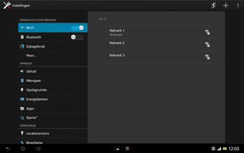 Sony SGP321 Xperia Tablet Z LTE - Wifi - handmatig instellen - Stap 7