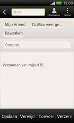 HTC T328e Desire X - E-mail - hoe te versturen - Stap 7