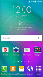 Samsung Galaxy A5 - Internet no telemóvel - Como configurar ligação à internet -  1