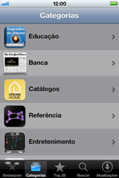 Apple iPhone iOS 5 - Aplicativos - Como baixar aplicativos - Etapa 11