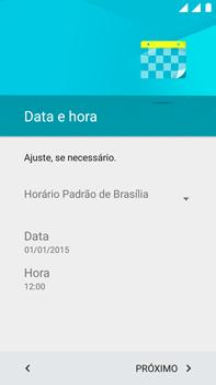 Motorola Moto X Play - Primeiros passos - Como ativar seu aparelho - Etapa 9
