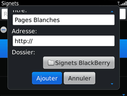 BlackBerry 9790 Bold - Internet - Navigation sur internet - Étape 8