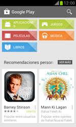 Samsung S7560 Galaxy Trend - Aplicaciones - Descargar aplicaciones - Paso 5