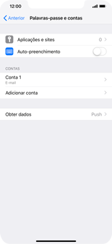 Apple iPhone XS Max - Email - Configurar a conta de Email -  26