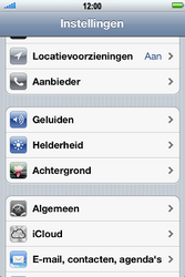 Apple iPhone 4 S - Internet - aan- of uitzetten - Stap 3