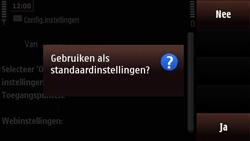 Nokia N97 Mini - Automatisch instellen - Automatisch Internet instellen - Stap 5