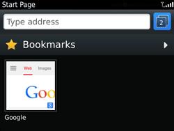 BlackBerry 9720 Bold - Internet - Internet browsing - Step 14
