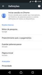 Sony Xperia XZ - Android Nougat - Internet no telemóvel - Configurar ligação à internet -  25