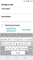 LG K11 - E-mail - Account instellen (IMAP zonder SMTP-verificatie) - Stap 8