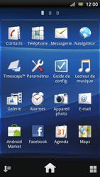 Sony Ericsson Xperia Ray - Internet - navigation sur Internet - Étape 2