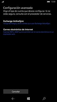 Microsoft Lumia 950 XL - E-mail - Configurar correo electrónico - Paso 8