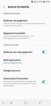 Samsung Galaxy A6 - Data - maak een back-up met je account - Stap 11