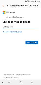 Samsung Galaxy J6 - E-mails - Ajouter ou modifier votre compte Outlook - Étape 8