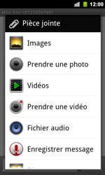 Google Nexus S - Mms - Envoi d