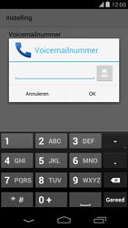 LG D821 Google Nexus 5 - Voicemail - handmatig instellen - Stap 10