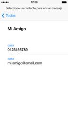 Apple iPhone 5s - Mensajería - Escribir y enviar un mensaje multimedia - Paso 6