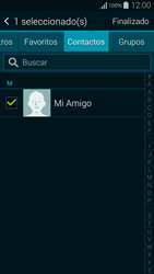 Samsung G850F Galaxy Alpha - Mensajería - Escribir y enviar un mensaje multimedia - Paso 8