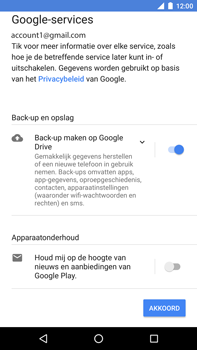 Huawei Nexus 6P - Android Oreo - Applicaties - Account instellen - Stap 17