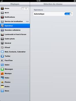 Apple iPad 4th generation - Réseau - utilisation à l'étranger - Étape 7