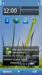 Nokia C7-00 - Email - Sending an email message - Step 1