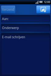 Sony Ericsson Xperia X8 - E-mail - Hoe te versturen - Stap 5