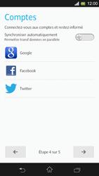 Sony Xpéria SP - Premiers pas - Créer un compte - Étape 9