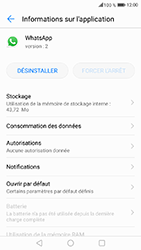 Honor 6A - Applications - Supprimer une application - Étape 6