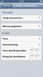 Apple iPhone 5 - E-mail - Handmatig instellen - Stap 5