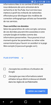 Samsung Galaxy J6 - Applications - Créer un compte - Étape 15