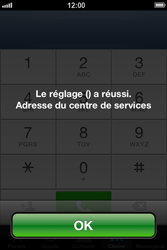 Apple iPhone 4 - iOS 6 - SMS - configuration manuelle - Étape 7