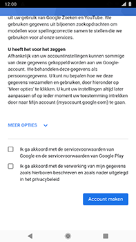 Nokia 8-sirocco-ta-1005-android-pie - Applicaties - Account aanmaken - Stap 16
