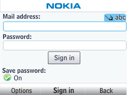 Nokia Asha 302 - E-mail - Manual configuration - Step 5