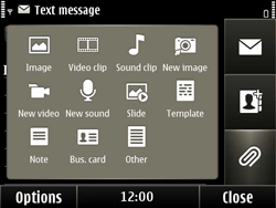 Nokia E6-00 - MMS - Sending pictures - Step 8