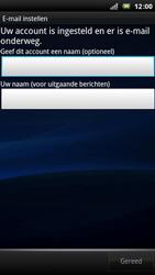 Sony Ericsson Xperia Arc - E-mail - Handmatig instellen - Stap 11