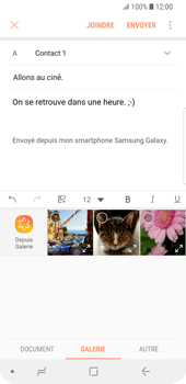 Samsung Galaxy S9 - E-mails - Envoyer un e-mail - Étape 13
