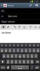 Samsung Galaxy Note 2 - E-mails - Envoyer un e-mail - Étape 9
