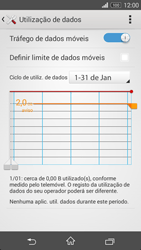 Sony Xperia M2 - Internet no telemóvel - Como ativar os dados móveis -  6