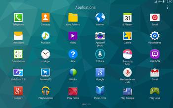 Samsung T805 Galaxy Tab S - Messagerie vocale - Configuration manuelle - Étape 3
