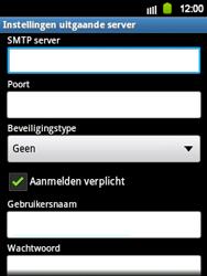 Samsung S5360 Galaxy Y - E-mail - handmatig instellen - Stap 10